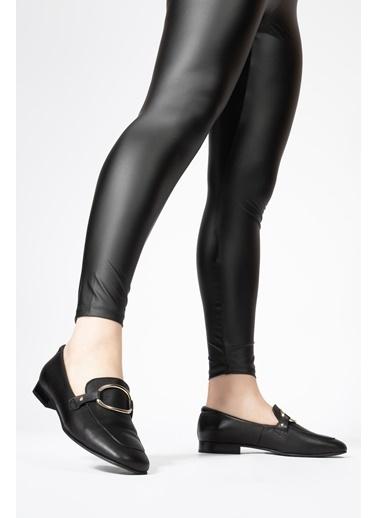 CZ London Hakiki Deri Ayakkabı Siyah